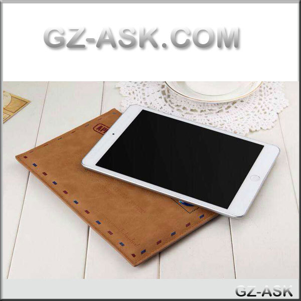The newest mini for ipad case with Envelope design Leather case for ipad mini 1/2/3