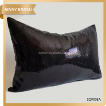 SQP008 Homeware custom sofa rectangle sequin fancy indian pillow cases