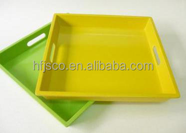 disposable bamboo fiber clutch household toast plate