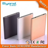 China factory direct sale cheap card power bank with general usb flash drive