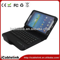Wireless Bluetooth Keyboard Case Cover Stand For Samsung T3100 Tablet