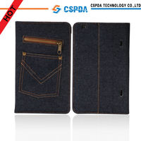Folio Denim Case for LG G Pad 7inch 8inch 10.1icnh Stand Case for LG G Pad 8.3 Book Cover
