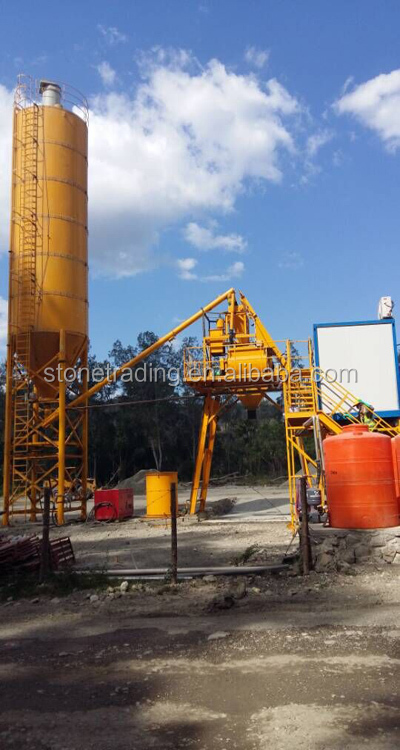 Low Cost HZS40 Concrete Mixing Plant,Full Automatic Ready Mixed Concrete Batching Plant