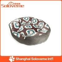 2015 Hot Sale Plush Round Dog Bed