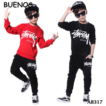 2018 New kids Spring Fashion Monogram Sports Casual Wear For boys