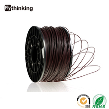 PLA/ABS /RUBBER/WOOD/PP 1.75mm plastic filament for 3d printing