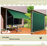 SF-R-5200 Movable Awning retractable Portable Awning