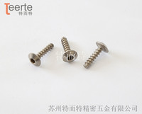 T hex head self-tapping screw flat tail