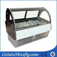 Air cooling refrigeration electrolux gelato freezer