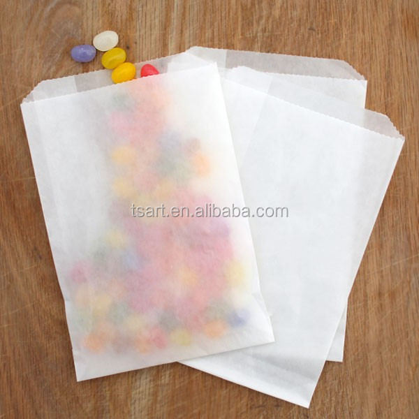 Greaseproof craft paper bag for food