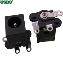 Hotselling 5.5 <strong>x</strong> 2.<strong>1</strong> mm PCB Mount Female DC Power Jack Plug Socket Connector