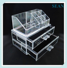 Hot Sale Factory Manufacturing Clear acrylic makeup brushes holder holders Hot Sell Low Price