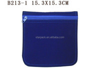 Custom Velvet Jewelry Pouch Wholesale With Zipper B213-1