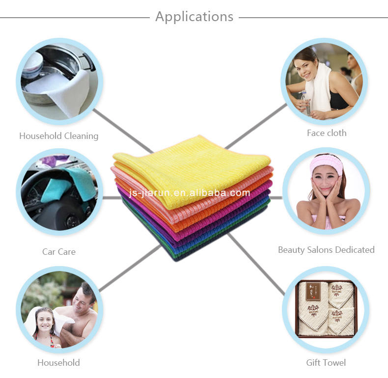 Factory Direct Sales Cleaning Microfiber Dish Washing
