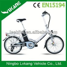CE approved! Golden Motor Brand! 36V 250W Folding E Bike / Electric bicycle