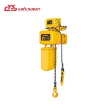 YS Lifting Heavy Cargo Convenient Equipment Electric Chain Hoist With Remote Control