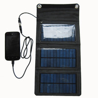 solar charger for samsung galaxy s4/iphone with 1000mah capacity