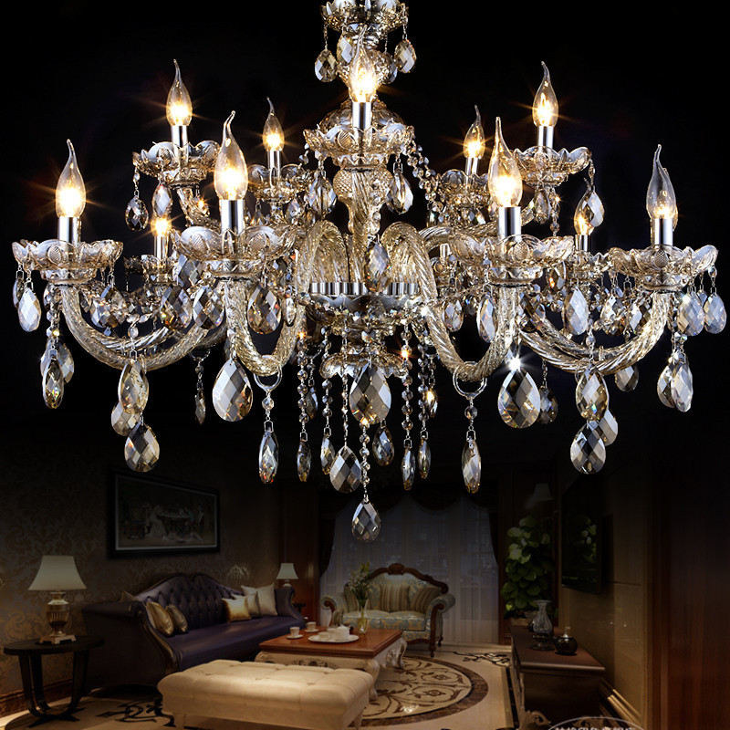 large candle egypt crystal chandelier for hotel/hall