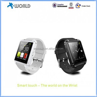 Bluetooth Smart Watch Wrist Wrap Watch Phone for IOS Apple iphone 4/4S/5/5C/5S Android Samsung S2/S3/S4/Note 2/Note 3 HTC Nokia