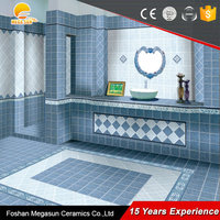 16x16 glazed ceramic floor tile/non slip bathroom floor tile wholesale china factory