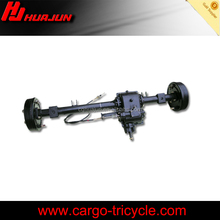 Factory directly selling rear axle for tricycle, 3 wheelers