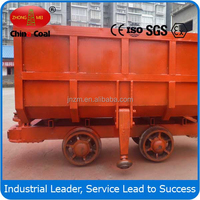 China Coal MCC Series Side Dumping Mine Car from Manufacturer
