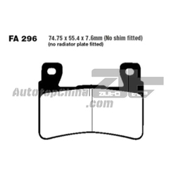 Motorcycle Front Brake Pads FA296 For HONDA CB400 SFX99-03 CB1300 S5/S6 05-09