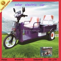 Durable low consumption fashionable adult three wheel scooter for passenger