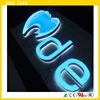 alphabet led sign/led epoxy resin sign sample business letter