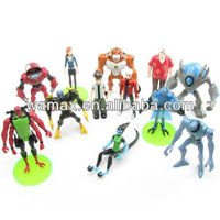 Ben 10 spinning top action figure toys
