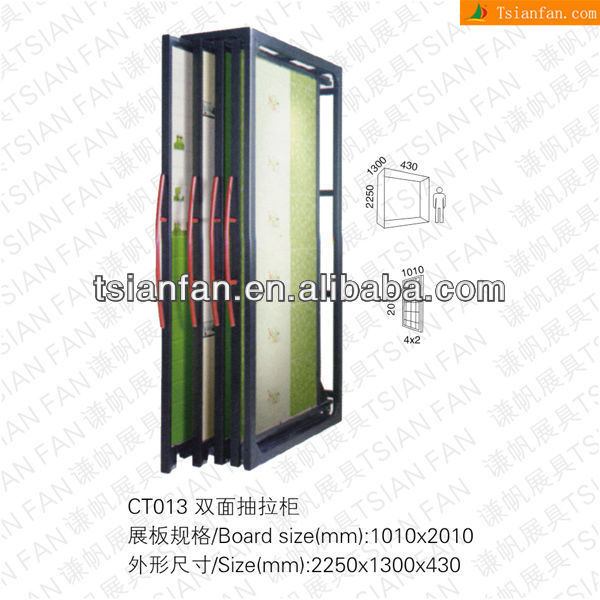 Ceramic Tile Showroom Display Rack-CT013