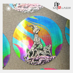 Anti Counterfeiting Paper Material Hologram Label for Student ID Card University Certificate