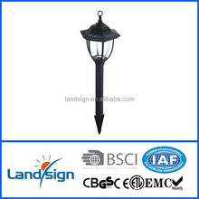 2016 new arrival solar energy product solar outdoor lamp series low voltage garden spike led light