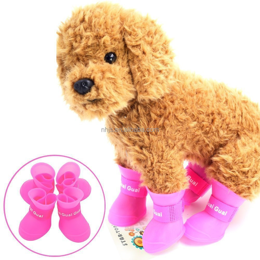 Portable Dog Rain Boots Little Pet Cat Snow Shoes for Small Dog