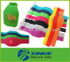 Promotional colorful led touch screen silicone thin watch