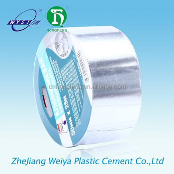 self-adhesive aluminum foil tape