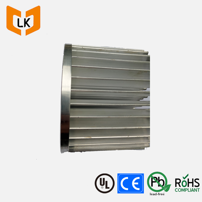 Guangddong whole LED round pin fin heatsink aluminum hardware