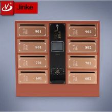 Stainless Steel Standing Locking Mailbox Postbox Made In China