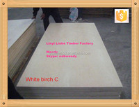 18mm CD grade birch plywood panel