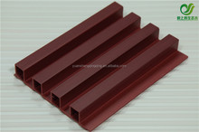 Factory supplier best price anti-crack exterior WPC plastic wood wall cladding/facade panel