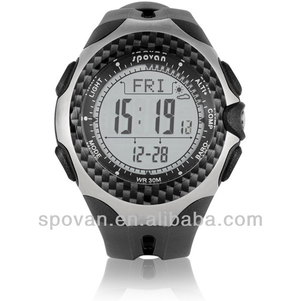 Alibaba express high quality Climbing altimeter, altimeter barometer compass digital watches