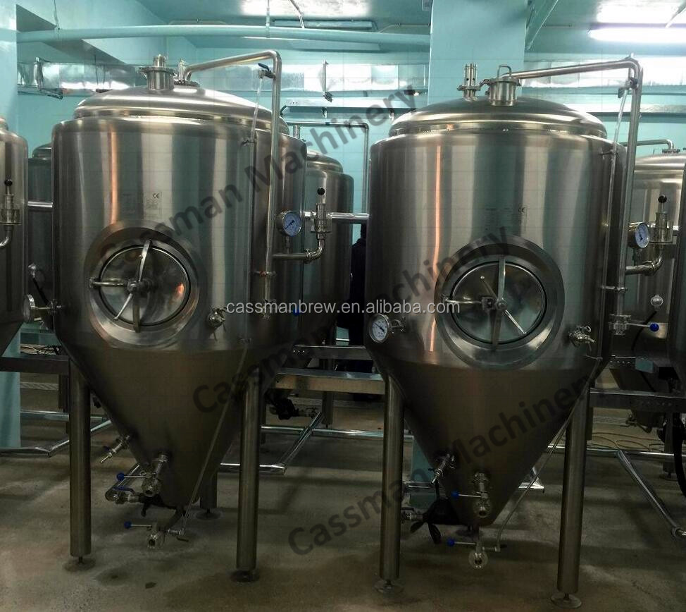SUS 304 100l conical fermenter for micro brewery