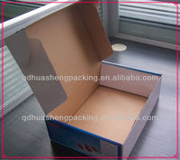 2013 hot sale high quality and strong sea food single corrugated paper box