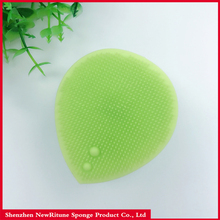 Hot Sell Face Scrubbers Clean Pad Soft Silicone Facial Pore Cleansing Brush