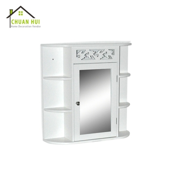 Modern wooden single door living room cabinet