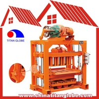 QTJ4-35A Concrete Block Machines For Sale Manual Concrete Block Making Machine Price