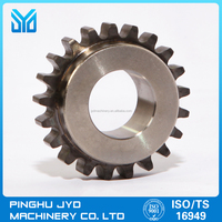 Water pump drive chain sprocket partswith power metallurgy for Auto engine/ cnc machining/OEM parts