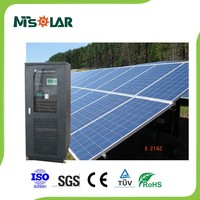 solar pv power system 50kw 20kw with panel controller battery inverter