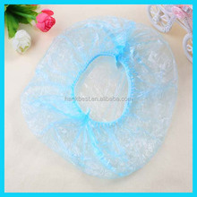 Hotel supplies clear disposable PE Bathing cap