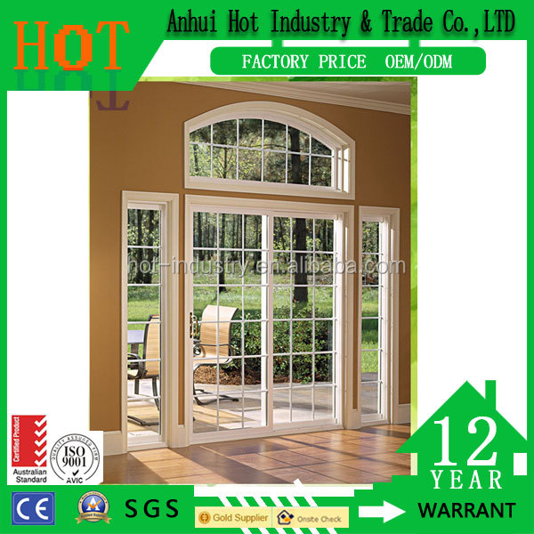 Modern american window latest new high quality house pvc fixed window grill models design